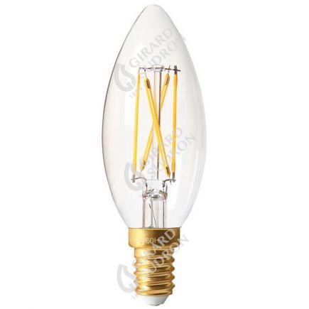 Fiamma C35 Filamento LED 4W E14 4000K 350Lm Dim. Ch.