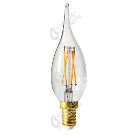 Candle GS4 Filament LED 4W E14 2700K 320Lm Dim. Cl.