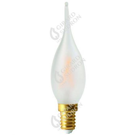 Fiamma GS4 Filamento LED 4W E14 2700K 300Lm Dim. Mat