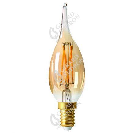Flamme GS4 Filament LED 5W E14 2500K 500Lm Amb.