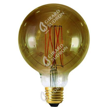 Globe G125 Filament LED 4W E27 2100K 200Lm Dim. Smoky RA>90
