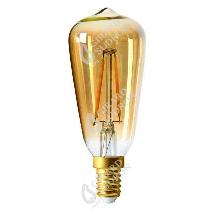 Edison Filamento LED 1W E14 2500K 105Lm Amb.