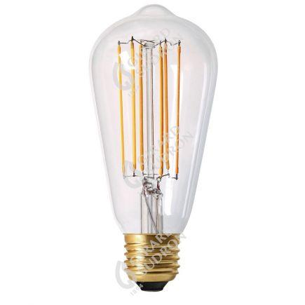 Edison Filamento LED 4W E27 2300K 300Lm Dim. Ch.