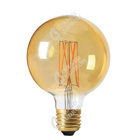 Globe G95 Filamento LED 4W E27 2100K 260Lm Dim. Amb.