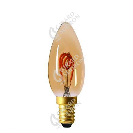 Fiamma C35 Filamento LED LOOPS 2W E14 2000K 90Lm Amb