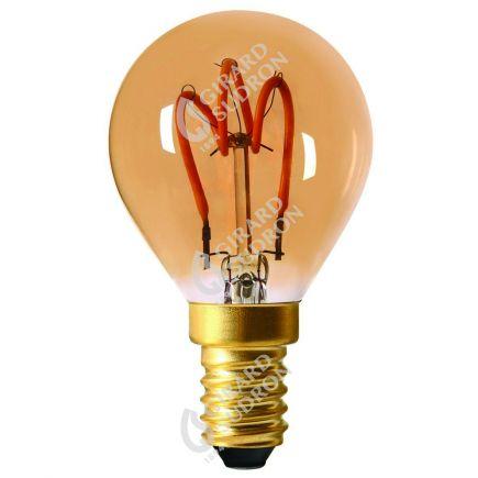 Sferica G45 Filamento LED LOOPS 2W E14 2000K 90Lm Amb.