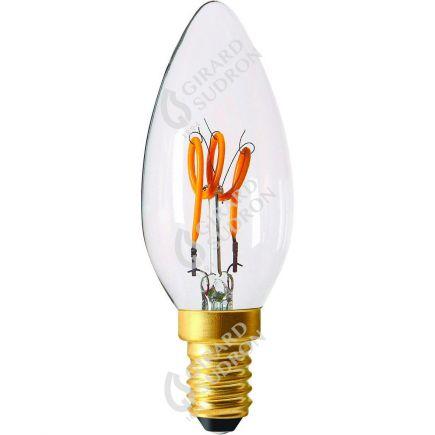 Fiamma C35 Filamento LED LOOPS 2W E14 2200k 110Lm Ch.