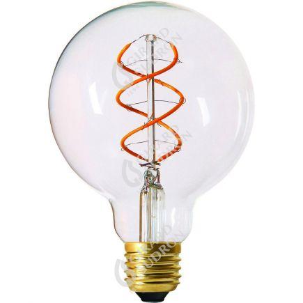 Globe G95 Filamento LED TWISTED 5W E27 2200K 300Lm Ch.
