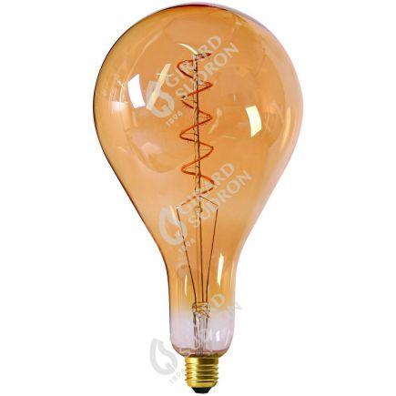 Lampadina Gigante Filamento LED TWISTED 290mm 6W E27 2000K 300Lm Dim. Amb.