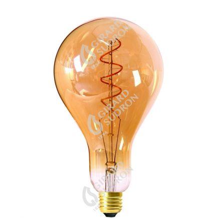 Lampadina Gigante Filamento LED TWISTED 240mm 4W E27 2000K 200Lm Dim. Amb.