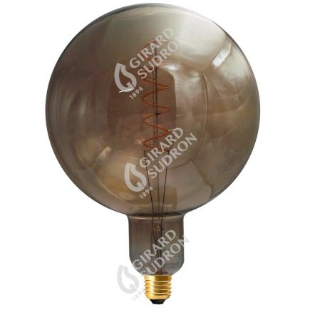 Globe G200 Filament LED TWISTED 6W E27 2000K 240Lm Dim. Smoky