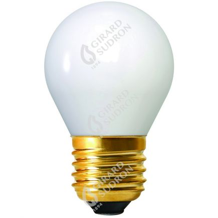 Sferica G45 Filamento LED 4W E27 2700K 400Lm Bianco latte
