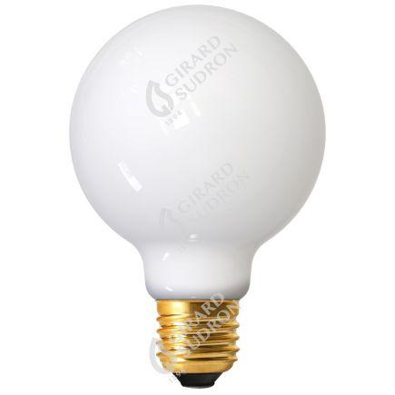 Globe G80 Filamento LED 7W E27 2700K 806Lm Bianco latte