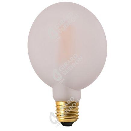 Ampoule Plate G105 6W 670lm E27 2700K Mat. Dim