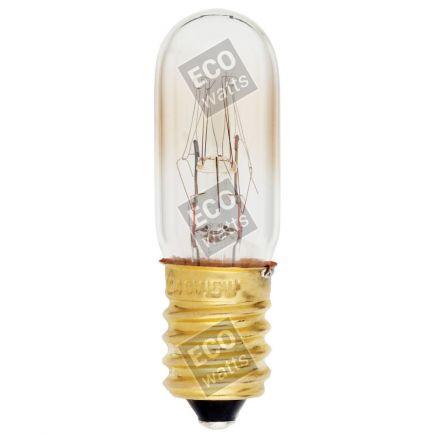 Lampe Tubo per réfrégirateur Incan. 15W E14 2750K 110 Dim.