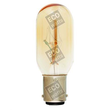 Lampe Tubo per réfrégirateur Incan. 15W BA15D 2750K 110 Dim.