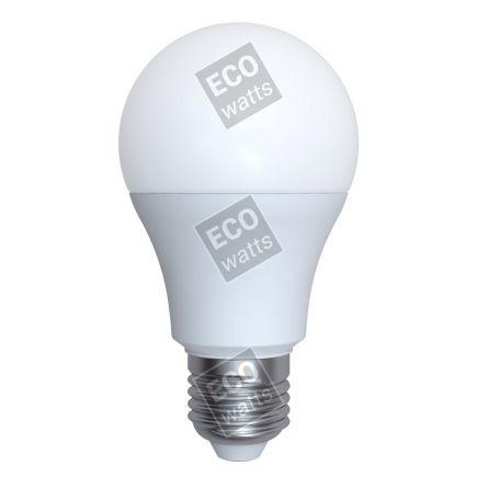 Ecowatts - Standard A60 LED 270° 6W E27 2700K 540Lm Opaca