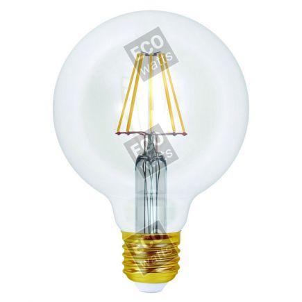 Ecowatts - Globe G95 Filamento LED 8W E27 4000K 1055Lm Ch.