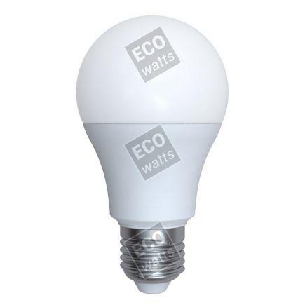 Ecowatts - Standard A60 LED 270° 6W E27 4000K 570Lm Opaca