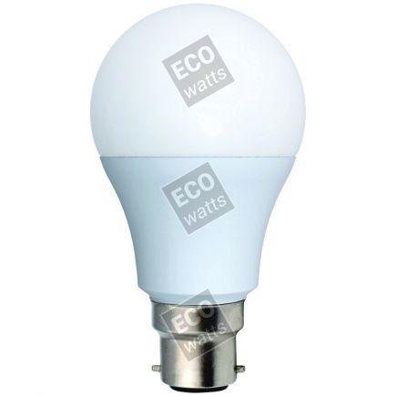 Ecowatts - Standard A60 LED 270° 9W B22 2700K 806Lm Opaca