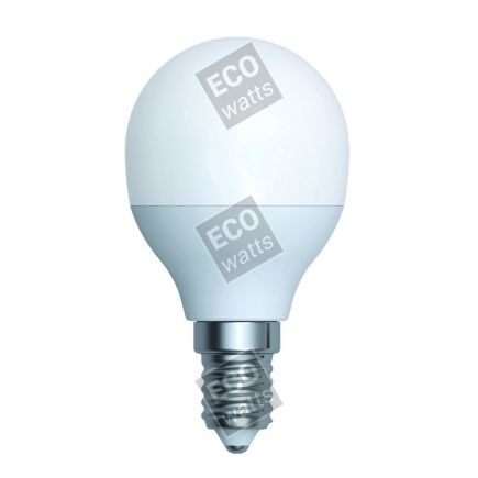 Ecowatts - Sferica G45 LED 270° 5.5W E14 4000K 490Lm Opaca