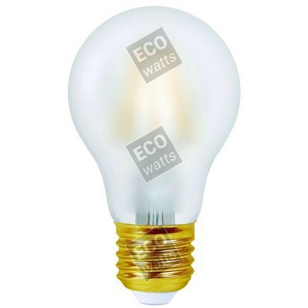 FS Ecowatts - Lot de 2 Ampoules Filament LED - Standard A60 4W E27 4000K Mat 3125469986973