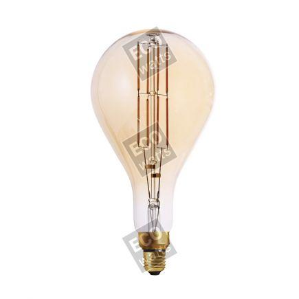 FS Ecowatts - Big bulb LED filament 290mm 8W E27 2000K 700Lm Dim. Amb. 3125469989769