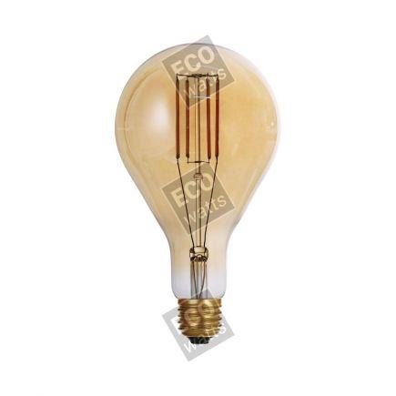 FS Ecowatts - Big bulb LED filament 240mm 4W E27 2000K 300Lm Dim. Amb. 3125469989776