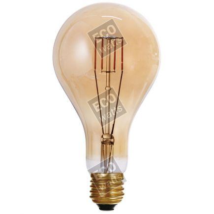 FS Ecowatts - Big bulb LED filament 200mm 4W E27 2000K 300Lm Dim. Amb. 3125469989783