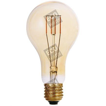 FS Ecowatts - Big bulb LED filament 180mm 4W E27 2000K 300Lm Dim. Amb. 3125469989790