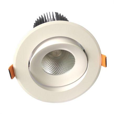 Cavell - Faretto a LED Ø142x118 inc.Ø110 25W 3000K 2130lm 36° bianco