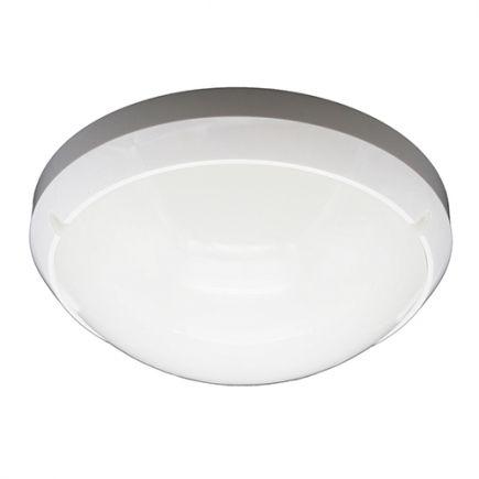 Luna - Plafoniera a LED Ø300x90 16W 4000K 1280lm 160°con sensore bianco