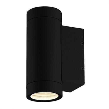Capella - Lampada da parete Sali-scendi Ø65x160 GU10 2x11W max. nero
