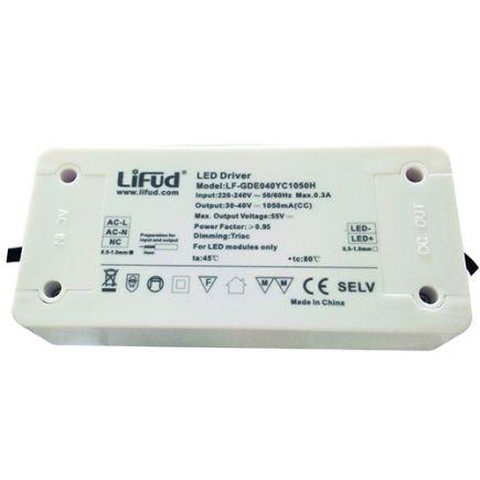 Driver dimmerabile per faretto LED 140x65x30 50W Triac Dim bianco Dim