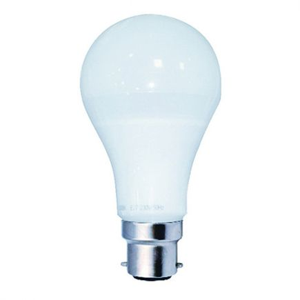 Standard A65 LED 330° 12W B22 2700K 1000Lm Dim. Opaca