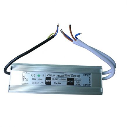 Driver Led 150W 12V DC IP66