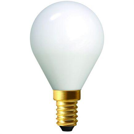Sferica G45 Filamento LED 4W E14 2700K 400Lm Bianco latte