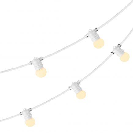 E27 belt light 5 m  With 5 lampholders 2 x 1.5mm2