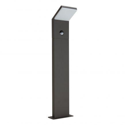 Jabbah II - LED Illuminazione di passaggi 75x75x600 9W 4000K 690lm grigio scuro