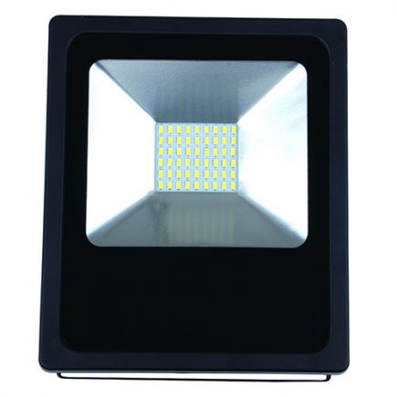 Isonoe - EcoWatts -Lampada del proiettore LED IP 65 223x183x55 30W 3000K 2400lm 120° nero