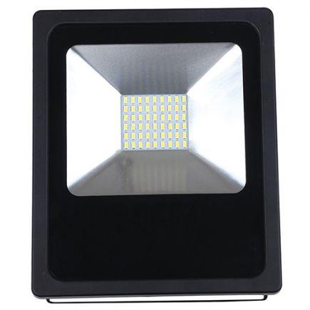 Isonoe - EcoWatts -Lampada del proiettore LED IP 65 180x58x240 50W 3000K 4000lm 120° nero