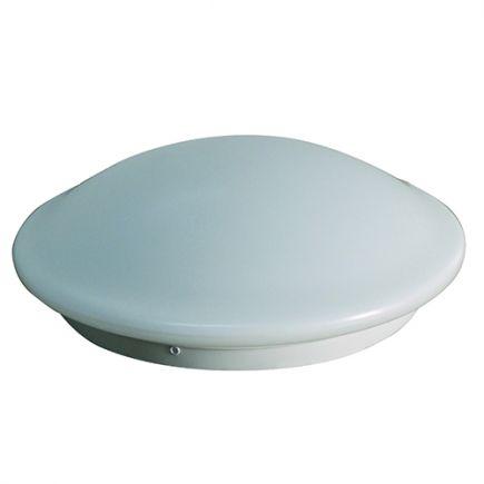 Dome - Plafoniera a LED Ø350x115 18W 4000K 1500lm 120°con sensore bianco