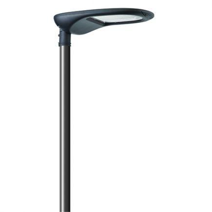 Aurora -LED Illuminazione Pubblica IP66 762x370x128 140W 3000K 14500lm 45-135° grigio scuro