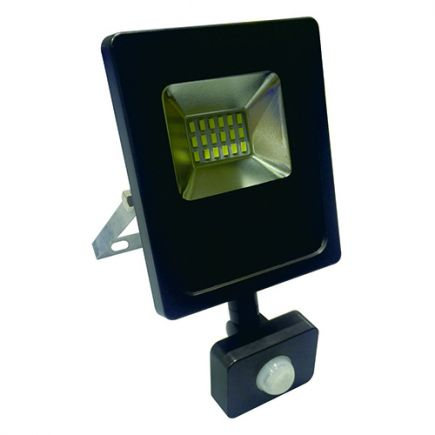 Isonoe - EcoWatts -Lampada del proiettore LED IP 65 115x41x138 10W 3000K 800lm 120° nero