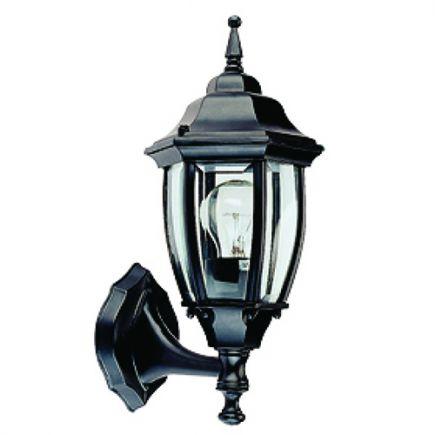 Adara - Lampada da parete per esterno 188x155x420 E27 60W max. nero