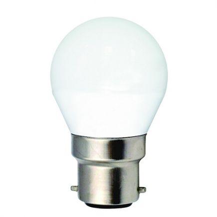 Sferica G45 LED 330° 5W B22 4000K 410Lm Opaca